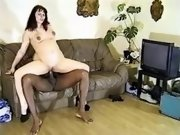 Pregnant slutty sucking black cock